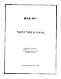 ComplianceDesign EFT/B-100