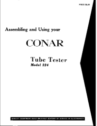 Conar-9189-Manual-Page-1-Picture