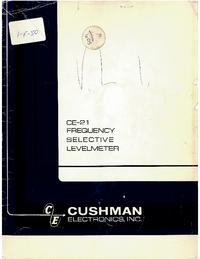 Cushman CE-21