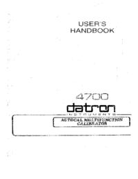 Datron 4700