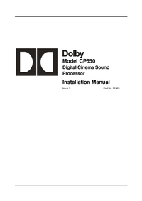 Dolby CP650