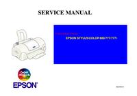 Epson STYLUS COLOR 777
