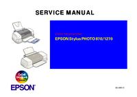 Epson Stylus PHOTO 870/1270