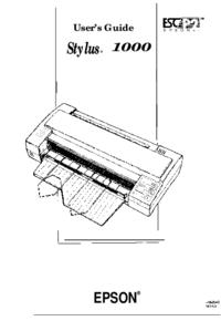 Epson Stylus 1000