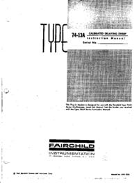 Fairchild 74-13A