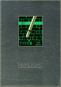 Fairlight CMI Model IIx
