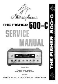 Fisher 500-C