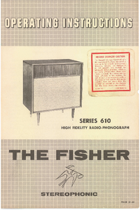 Fisher SERIES 610