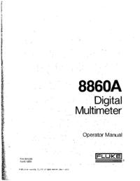 Fluke 8860A