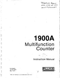 Fluke 1900A