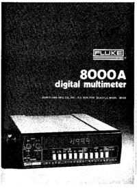 Fluke 8000A