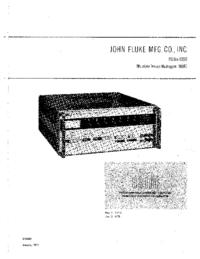Fluke 3330B