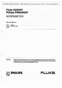 FlukePhilips Philips PM93