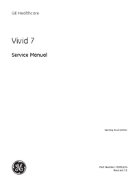 GEHealthcare Vivid 7