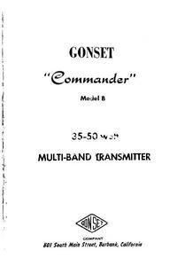 Gonset Commander Model B