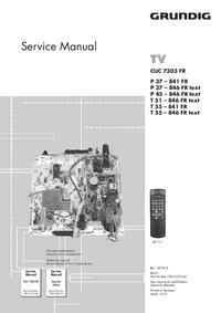 Grundig P 45 – 846 FR text