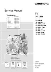 Grundig P 45 – 830 / 4 text
