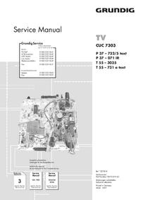 Grundig T 55 – 731 a text