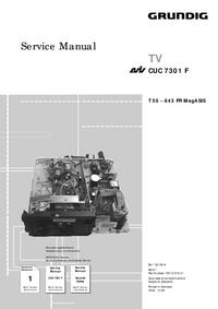 Grundig T 55 – 843 FR MegASIS