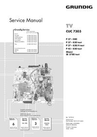 Grundig P 45 – 830 text