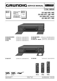 Grundig GV 460 VPT