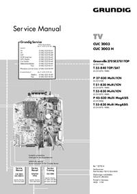 Grundig T 55-830 Multi MegASIS