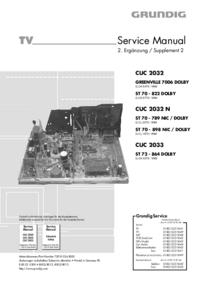 Grundig ST 70 - 898 NIC / DOLBY