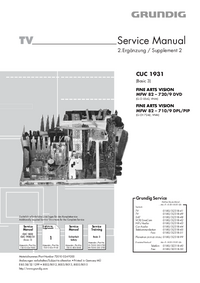 Grundig FINE ARTS VISION MFW 82 – 710/9 DPL/PIP