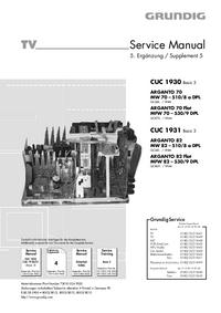 Grundig ARGANTO 82 Flat MFW 82 – 530/9 DPL