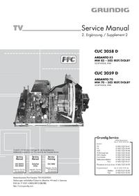 Grundig ARGANTO 82 MW 82 – 502 IRDT/DOLBY