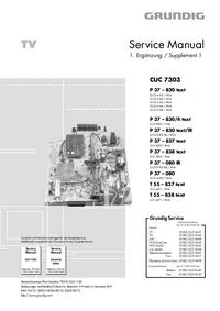 Grundig P 37 – 837 text