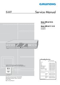 Grundig Sinio DTR 6110 S