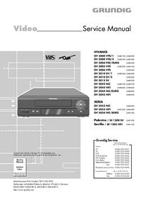Grundig VIVANCE GV 3004 PDC/EURO