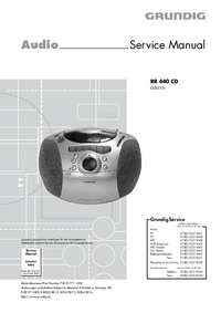 Grundig RR 440 CD
