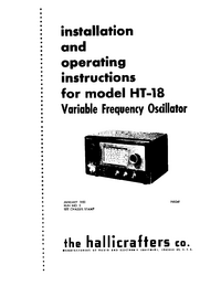 Hallicrafters HT-18