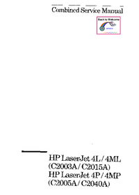 HewlettPackard LaserJet 4MP