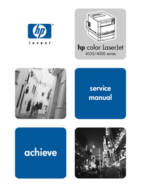 HewlettPackard color LaserJet 4550