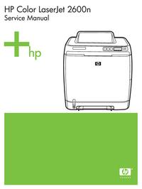 HewlettPackard Color LaserJet 2600N