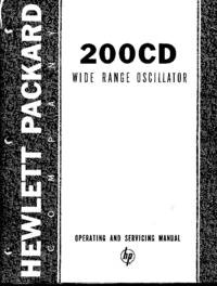 HewlettPackard 200CD