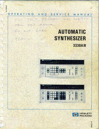 HewlettPackard 3330B