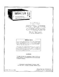 HewlettPackard 3478A