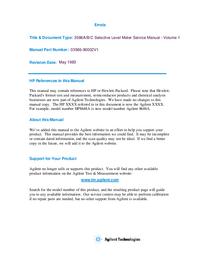 HewlettPackard 3586A