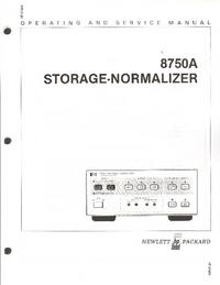 HewlettPackard 8750A