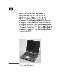 HewlettPackard Compaq Presario 2100 Series