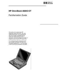 HewlettPackard OmniBook 4000C