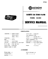 Hitachi CS-203