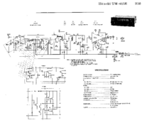 Hitachi TM-415 E