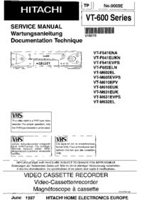 Hitachi VT-F641 ENA