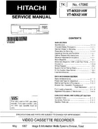 Hitachi VT-MX221AW