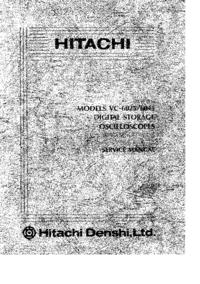 Hitachi VC_6045
